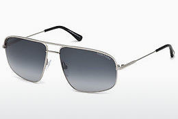 Солнцезащитные очки Tom Ford Justin Navigator (FT0467 17W) - серая, Matt, Palladium