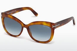 Солнцезащитные очки Tom Ford Alistair (FT0524 53W) - гавана, Yellow, Blond, Brown