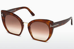 Солнцезащитные очки Tom Ford Samantha (FT0553 53F) - гавана, Yellow, Blond, Brown
