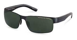 Porsche Design P8573 B black, black / green