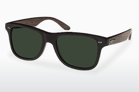 Солнцезащитные очки Wood Fellas Lehel (10757 rosewood/black/green)