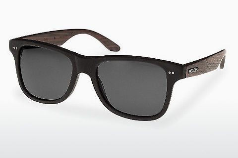 Солнцезащитные очки Wood Fellas Lehel (10757 rosewood/black/grey)